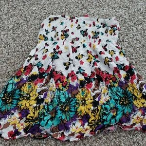 Pure energy tube top floral summer dress